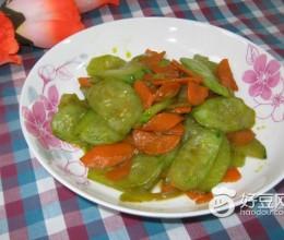 黄瓜胡萝卜片