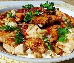 煎三文鱼骨豆腐