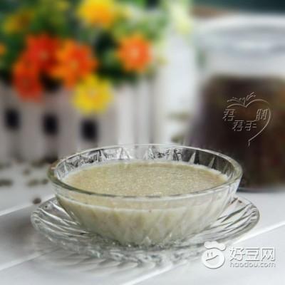玉米绿豆糊