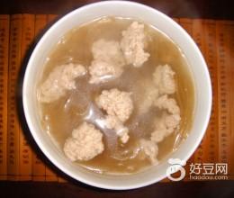 肉丸粉条汤