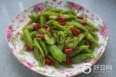 蒜香蚝油蛇瓜