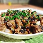 蒜头豆豉蒸芋头排骨