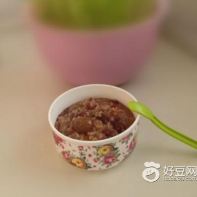 红豆桂圆粥