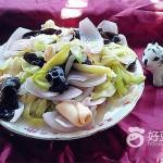 白瓜炒魷魚