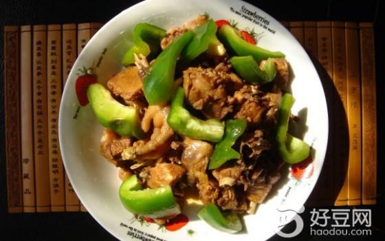 青椒炒仔鸡