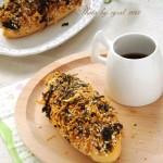 海苔肉松芝麻面包