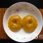 蒸南瓜糯米饼