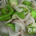 丝瓜炒洋葱