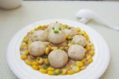 口蘑烩甜玉米