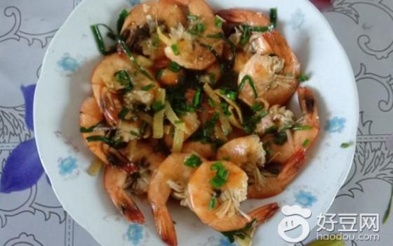 葱香基围虾