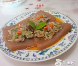 葱香魔芋豆腐