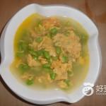 毛豆子蛋汤