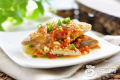 辣椒蒸带鱼