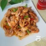 辣炒小海虾