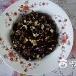 黑豆炒榛蘑