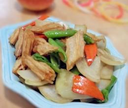 腐竹炒洋葱