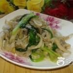 蘑菇烧青菜