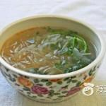 粉条萝卜汤