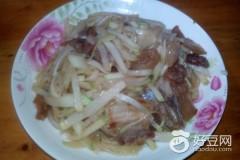 水芥炒五花肉