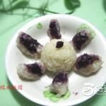 紫薯糯米饭团