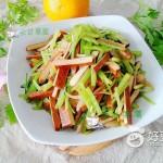 葱香芹菜豆干