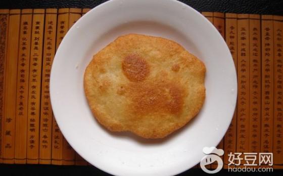 油炸糯米豆渣饼