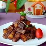 杏鲍菇红烧肉