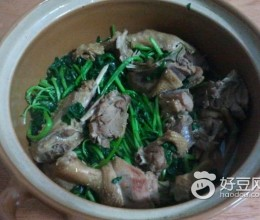 西洋菜焖鸭