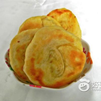 芝麻盐奶香饼