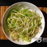 辣椒炒芽菜
