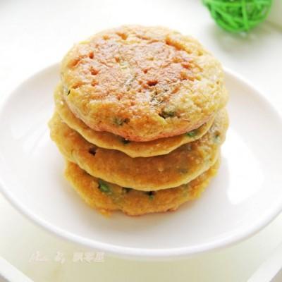 葱花鸡蛋燕麦饼