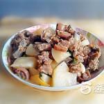 萝卜焖羊肉