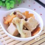 冻豆腐炖花菜