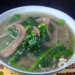 菠菜猪腰汤