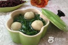 荠菜鱼丸汤