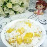 椰丝红薯米饭