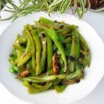 豆豉炒青椒丝