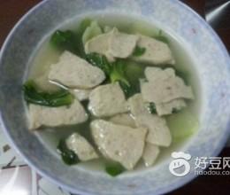 肉饼青菜汤