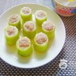 清蒸酿黄瓜