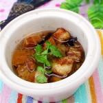 小锅焖五花肉