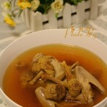 姬松茸鴿子湯