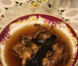 紫灵芝野鸟汤