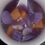 紫山药汤水