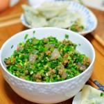韭菜虾仁饺子馅