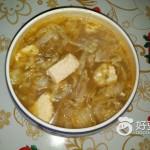豆腐白菜粉丝汤