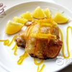香橙烤雞排