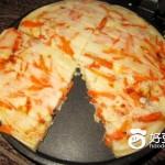 肉末红萝卜煎饼
