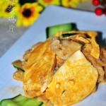 麻酱海蜇鸡片