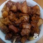 百叶结红烧肉