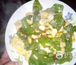 菜椒炒鸡蛋